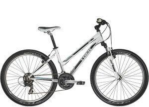 жіночий гірський велосипед для кросс-кантрі або тріалу