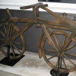 Перший дерев`яний велосипед