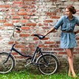 Складаний жіночий велосипед