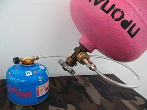 Правильна заправка туристичних газових балонів в домашніх умовах