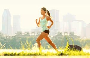 Які м`язи працюють при бігу