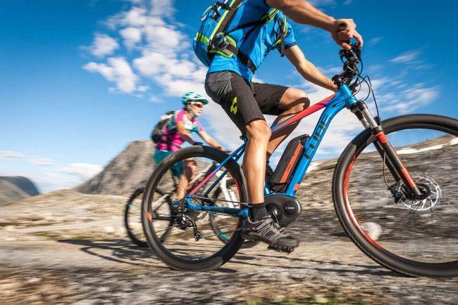 які м`язи тренуються при їзді на велосипеді