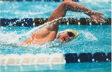 Плавання допомагає спалювати жир
