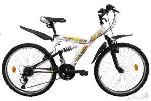 гірський двухподвесний велосипед Круїз 322