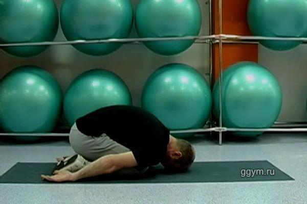 Комплекс вправ для спини. Розслаблення і самомасаж.