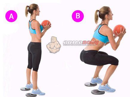 Комплекс вправ з м`ячем (вправа 5)