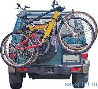 Кріплення для велосипеда на автомобіль