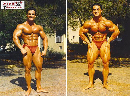 атлет на курсі тестостерону енантат