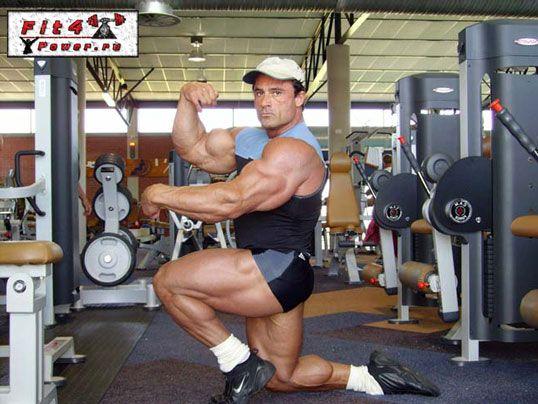 Атлет на тестостероне