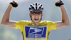 Велосипедист Ленс Армстронг