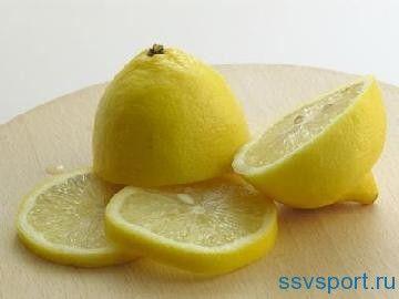 Лимонна вода для схуднення - рецепт
