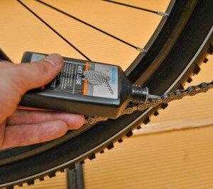 як правильно змастити ланцюг велосипеда