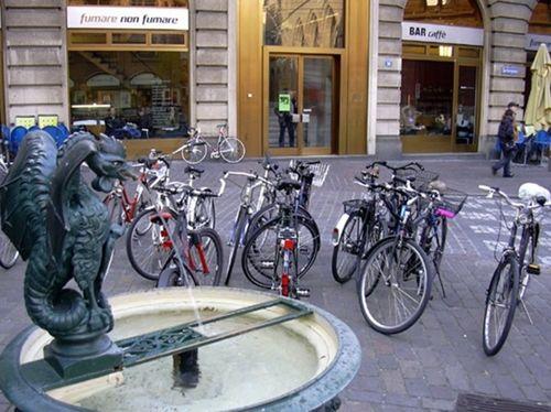 Базель - велосипедний місто