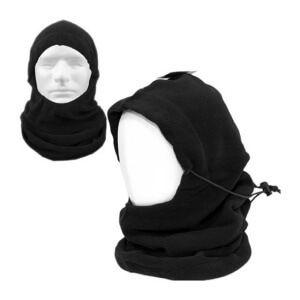 Товста балаклава-маска з отвором для особи, регульованим мотузкою