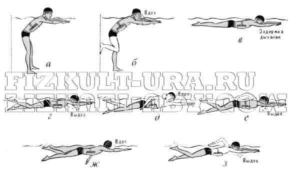 Заходи безпеки на заняттях плаванням