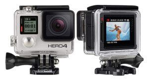 стрілялки камера GoPro Hero 4 для екстремальних видів спорту