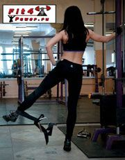 Махи в сторони для тренування середньої сідничного м`яза
