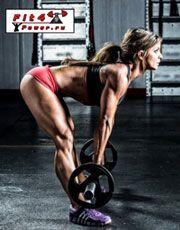 Румунська тяга для тренування біцепса стегна і сідничних м`язів