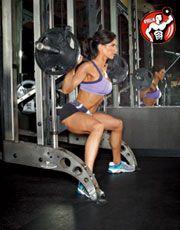 Присідання сумо для тренування сідничних м`язів
