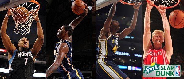 Nba slam dunk contest 2012 - погляд з боку