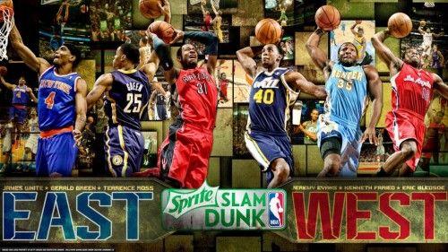 Nba sprite slam dunk contest 2013