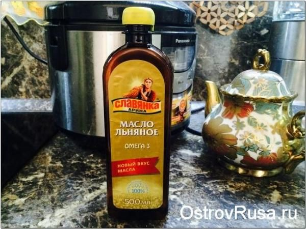 лляне масло - корисні жири