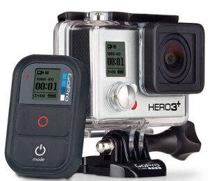 стрілялки камера GoPro Hero 3 + Black для екстремальних видів спорту