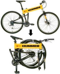 Складаний велосипед Hummer Tactical Mountain