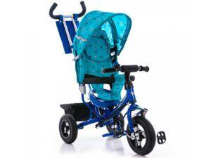 Дитячий триколісний велосипед Azimut Air Blue