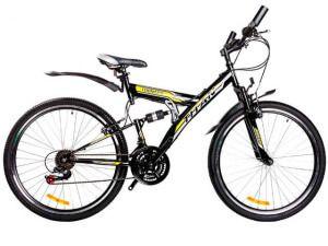 Двухподвесний гірський велосипед Tornado Titan