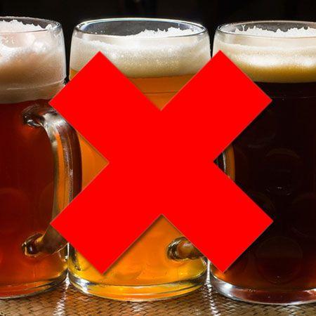 Негативний ефект алкоголю