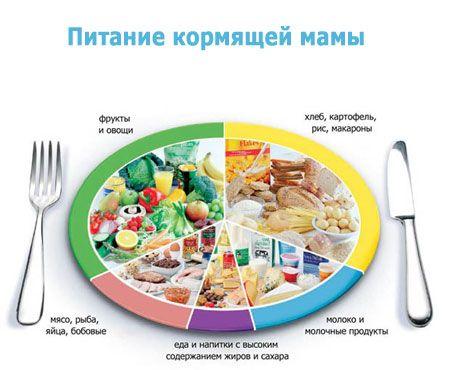 Харчування годуючої мами