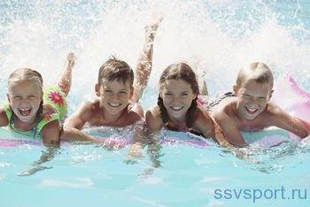 Плавання - користь для здоров`я дітям