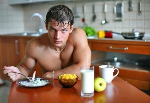 сніданок атлета