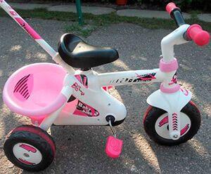 Триколісний дитячий велосипед Smoby