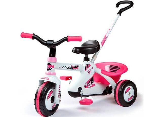 Дитячий триколісний велосипед Smoby First Bike Sport Line