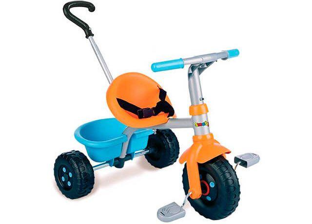 Дитячий триколісний велосипед Smoby Be Fun