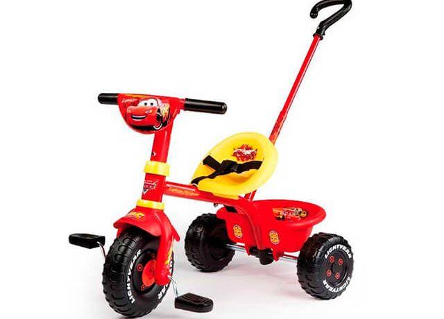 Дитячий триколісний велосипед Smoby Be Fun Cars