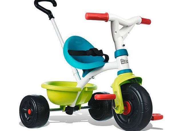 Дитячий триколісний велосипед Smoby Be Move Pop