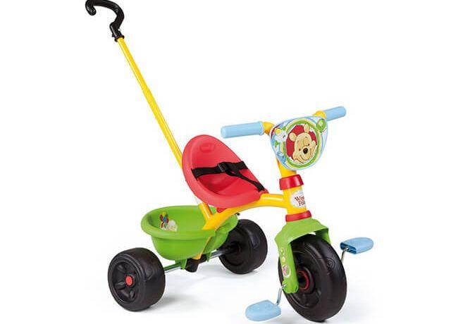 Дитячий триколісний велосипед Smoby Be Move Winnie