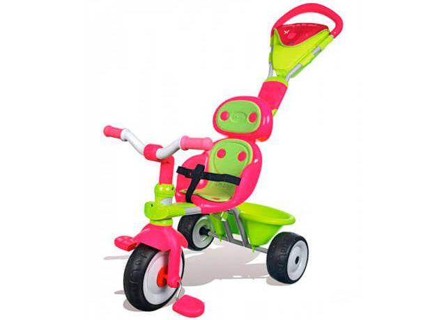 Дитячий триколісний велосипед Smoby Sport
