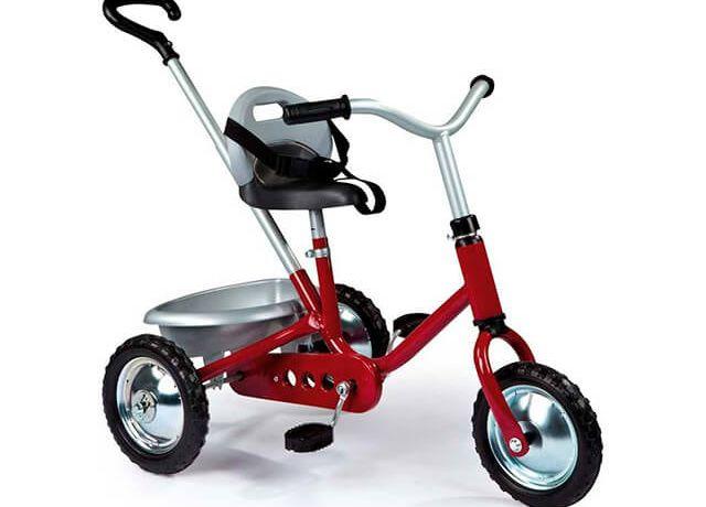 Дитячий триколісний велосипед Smoby Zooky Classique