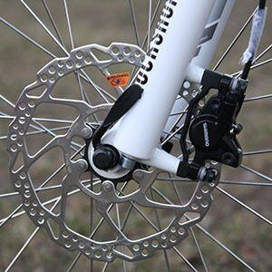 Чому скриплять велотормоза при гальмуванні