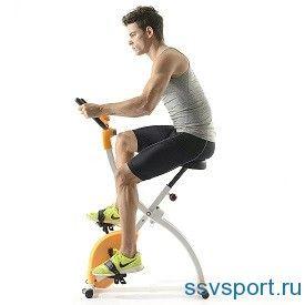 Заняття на велотренажері - користь