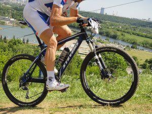 Правильна посадка на велосипеді