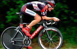 Правильна посадка на гоночний велосипед