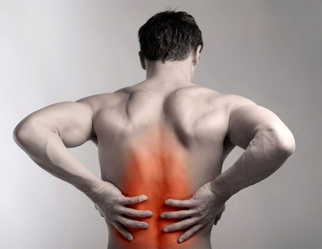 Основне місце виникнення болю