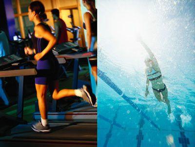 біг і плавання для схуднення