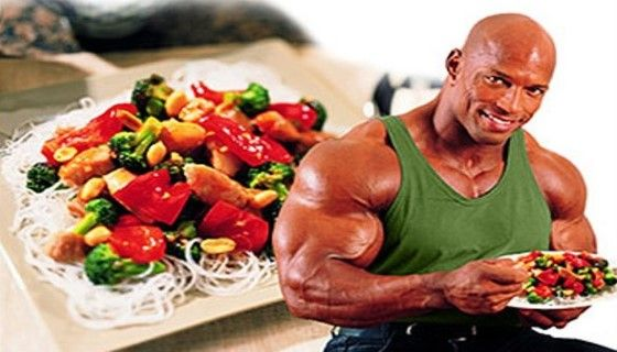 Раціон харчування для набору маси і рельєфної мускулатури