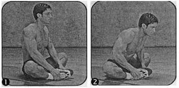 Комплекс вправ для розвитку гнучкості таза